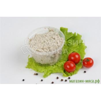 Сало соленое с чесноком