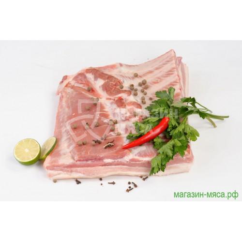 Грудинка свиная на кости